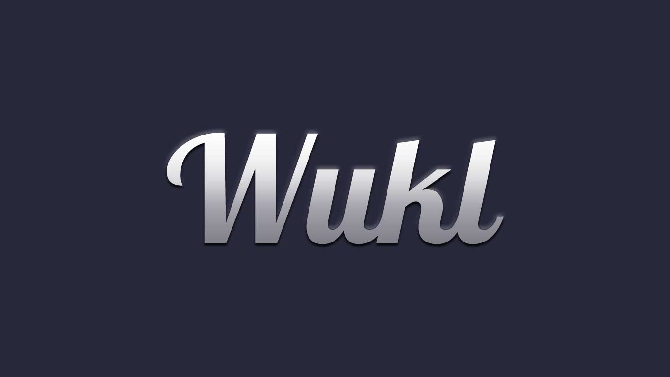 Logo for the Wukl.com domain name