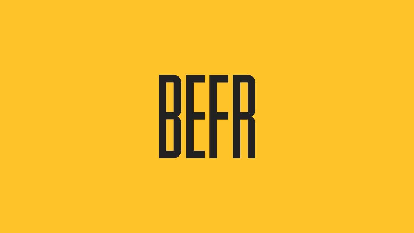 Logo for the Befr.com domain name