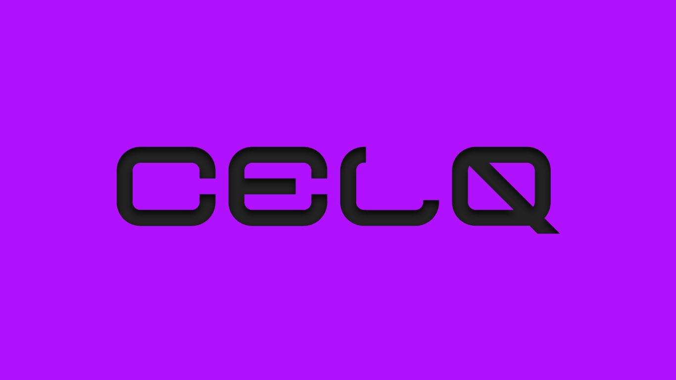 Logo for the Celq.com domain name