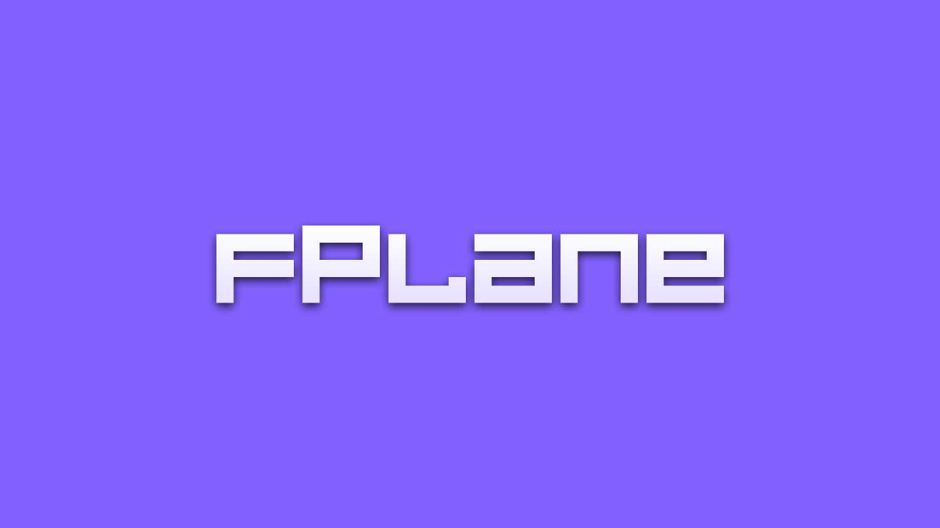 Logo for the fPlane.com domain name