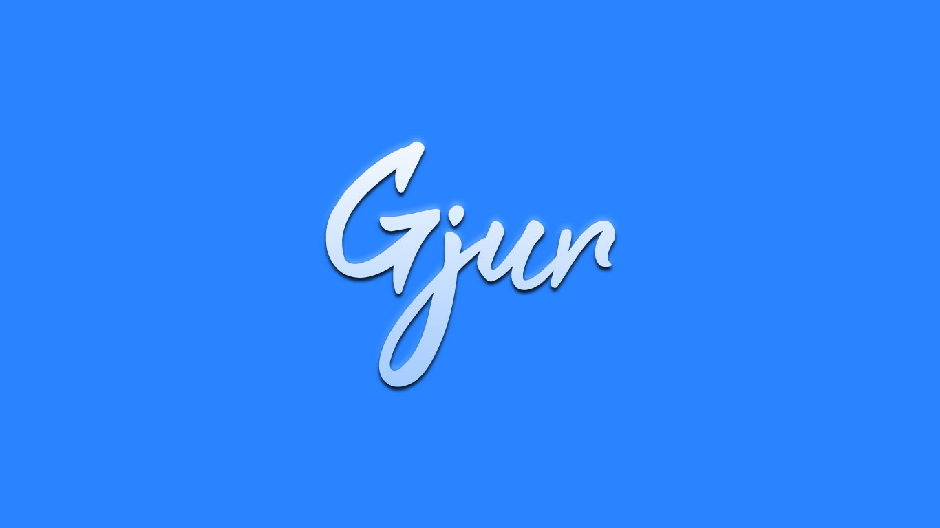 Logo for the Gjur.com domain name