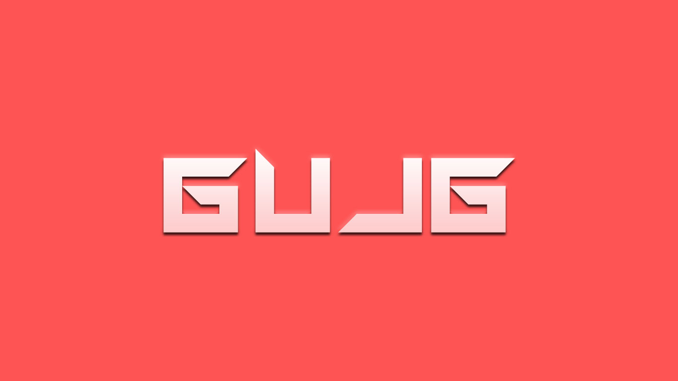 Logo for the Gujg.com domain name
