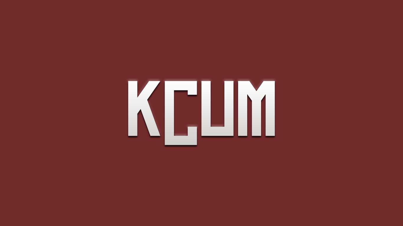 Logo for the Kcum.com domain name
