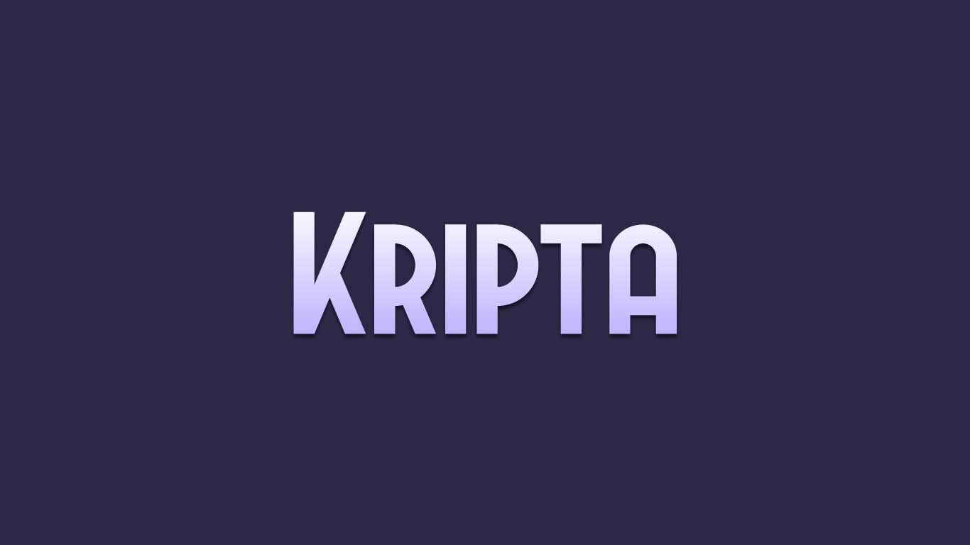 Logo for the Kripta.com domain name