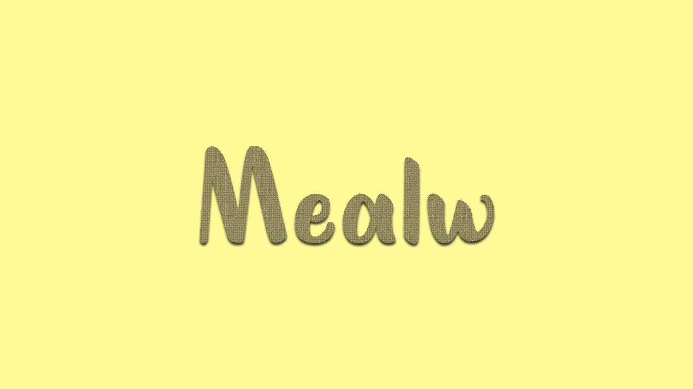Logo for the Mealw.com domain name