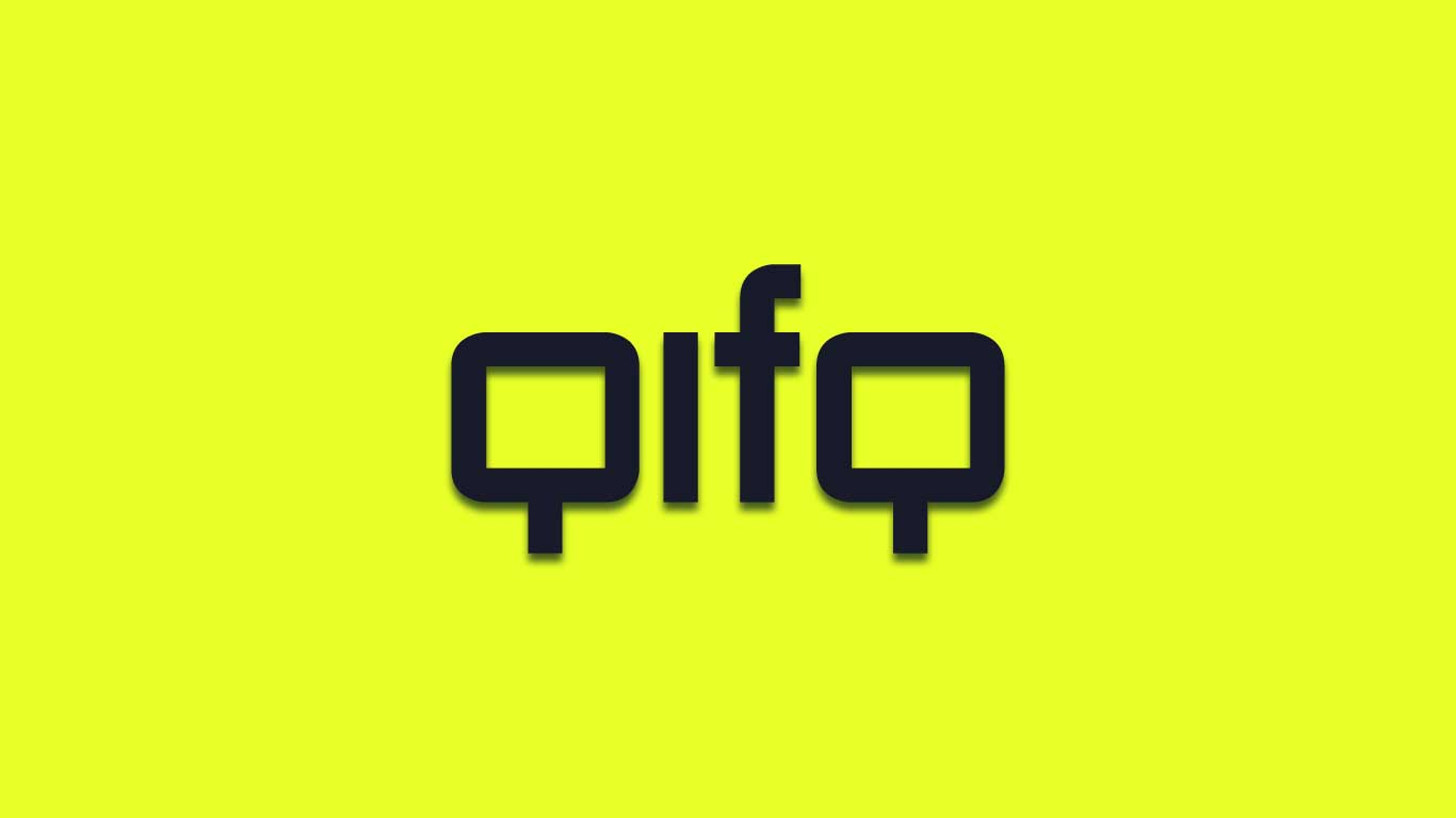 Logo for the Qifq.com domain name