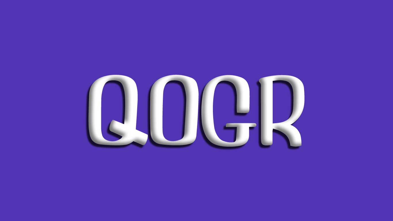 Logo for the Qogr.com domain name