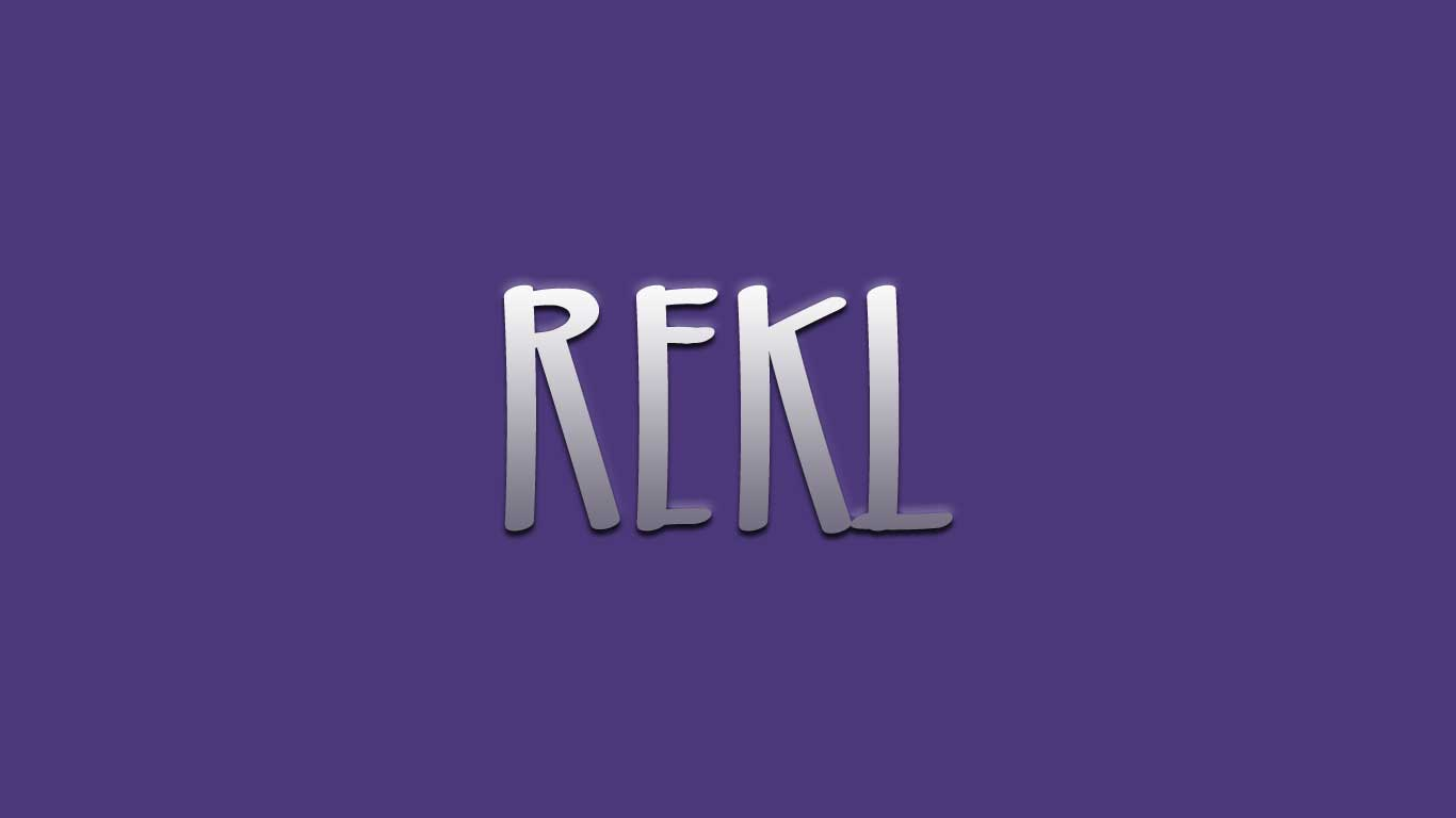 Logo for the Rekl.com domain name