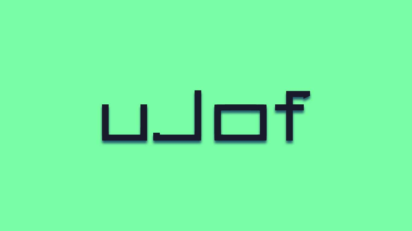 Logo for the Ujof.com domain name