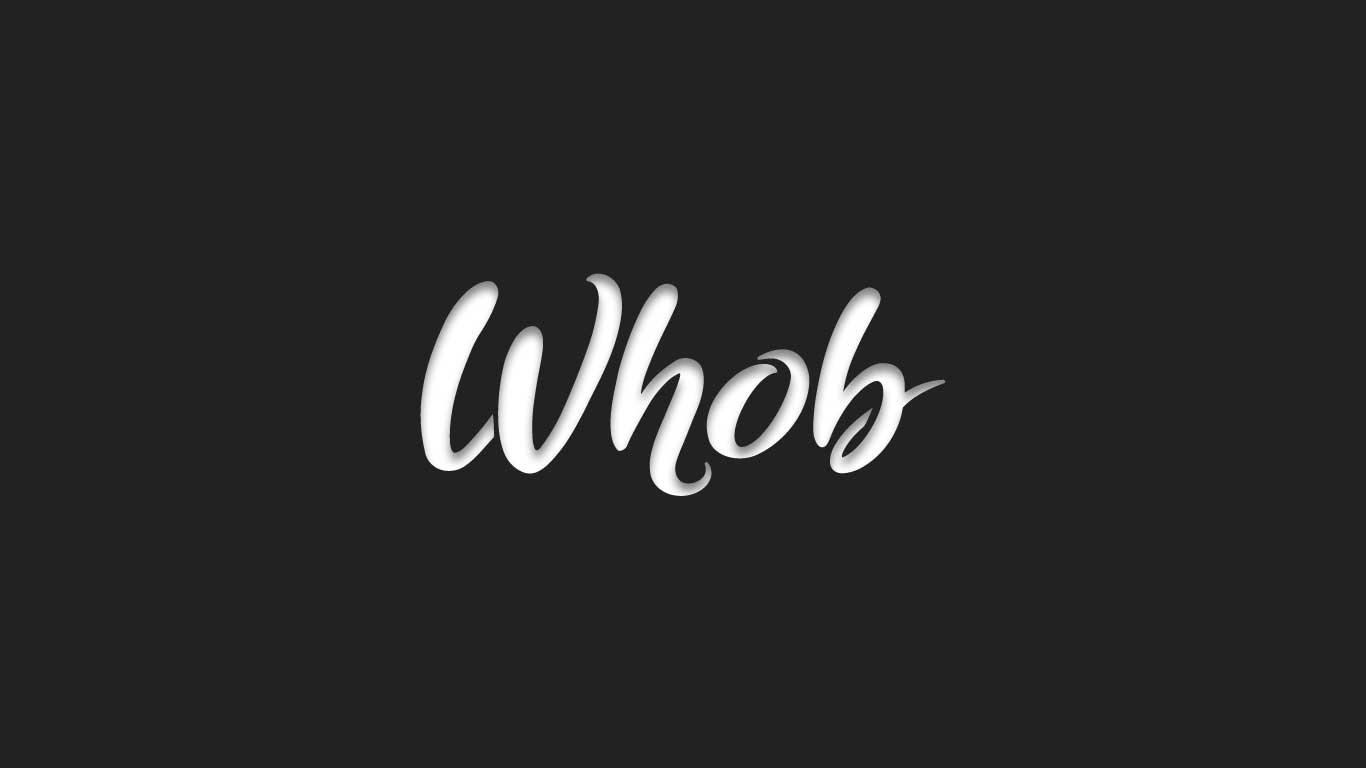 Logo for the Whob.com domain name