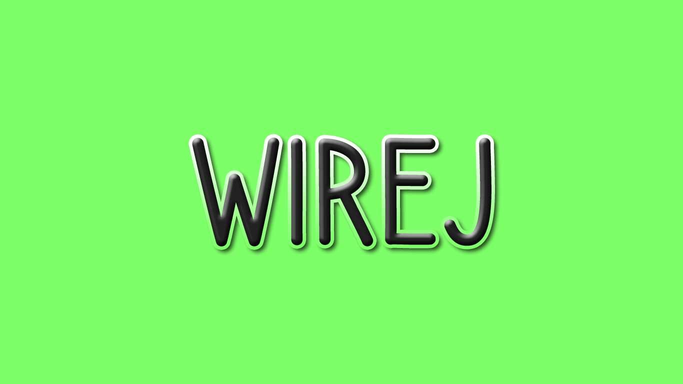 Logo for the Wirej.com domain name