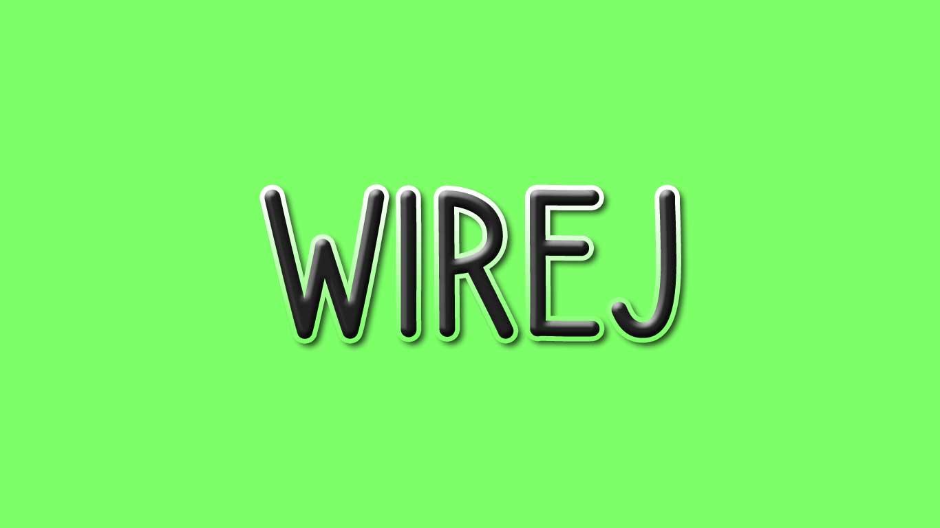 Logo for the Wirej.com domain name