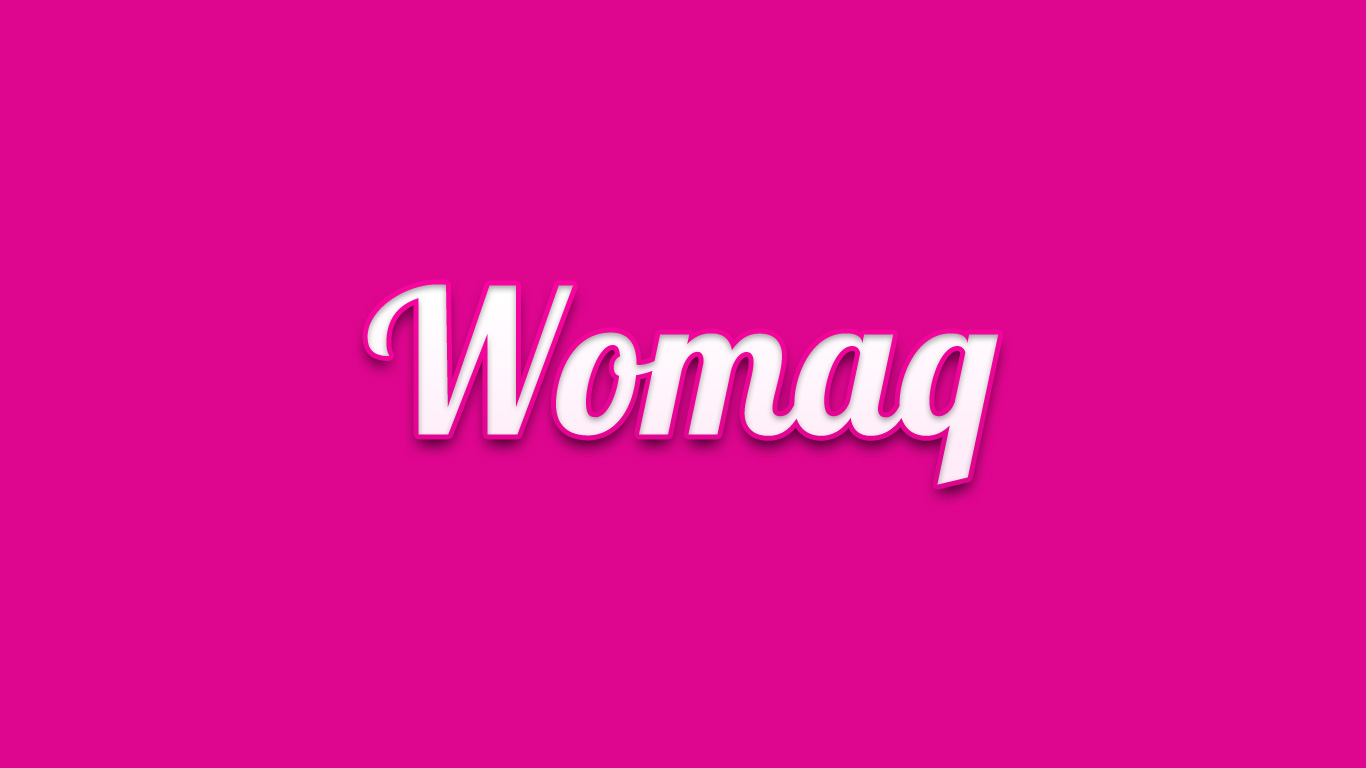 Logo for the Womaq.com domain name
