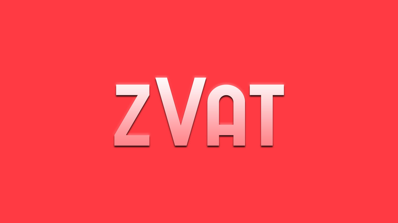Logo for the Zvat.com domain name