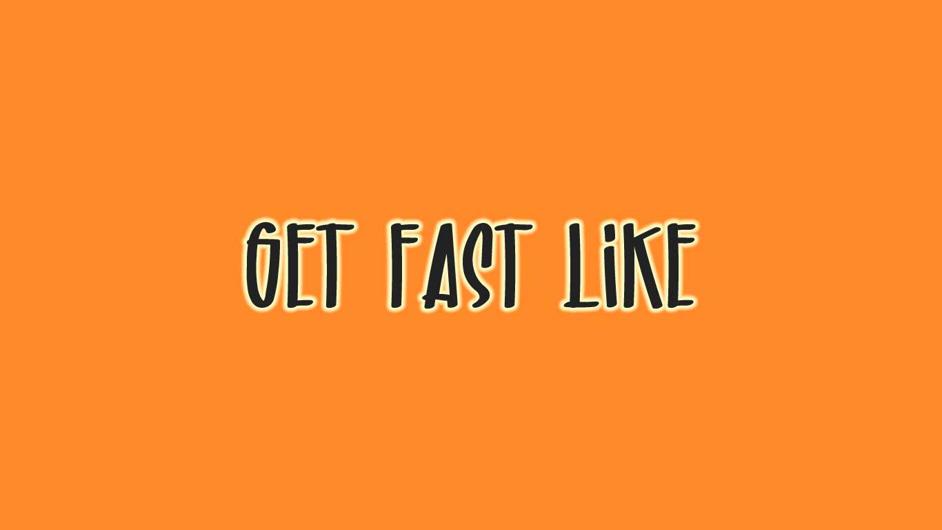 Logo for the GetFastLike.com domain name