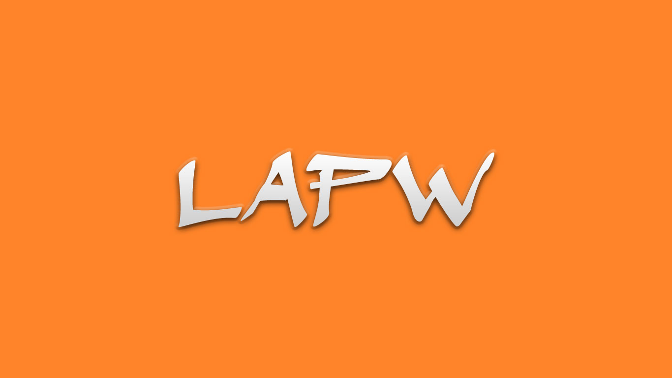 Logo for the Lapw.com domain name