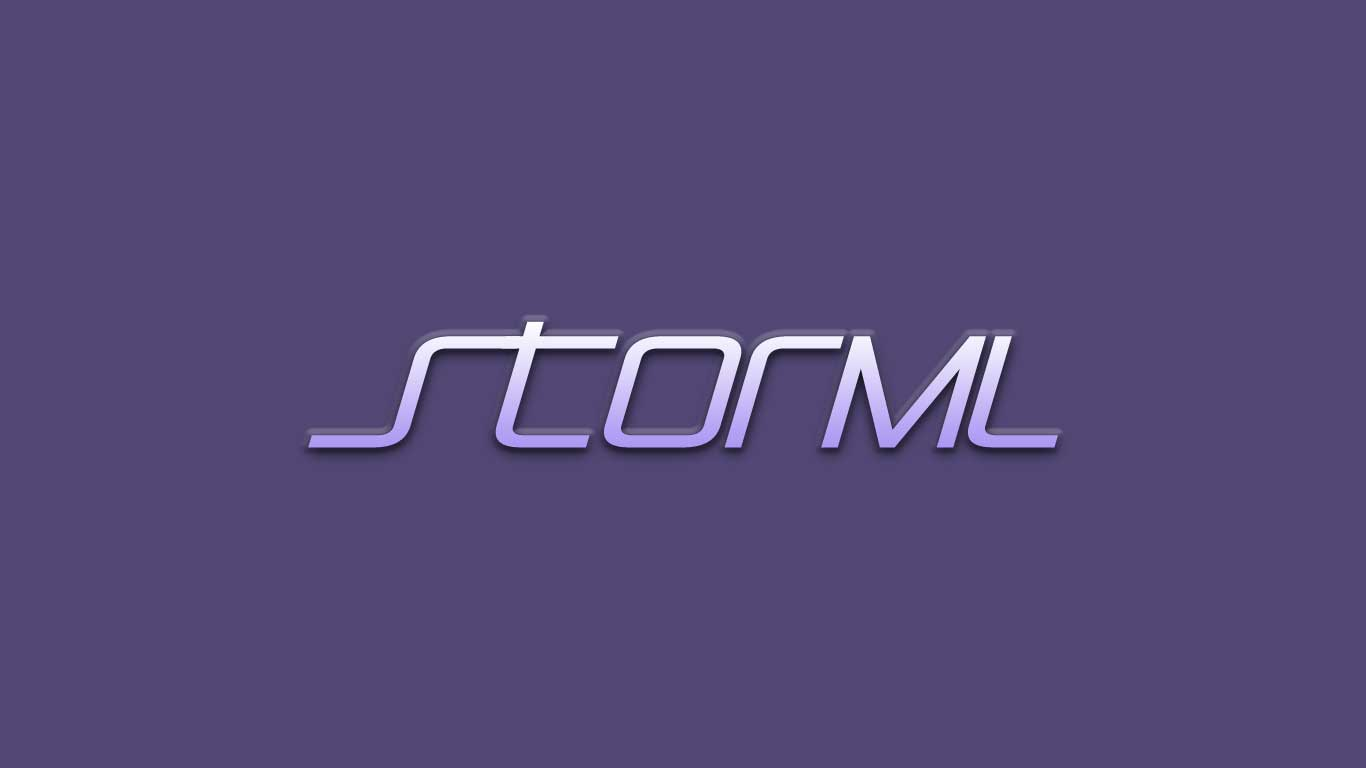 Logo for the Storml.com domain name