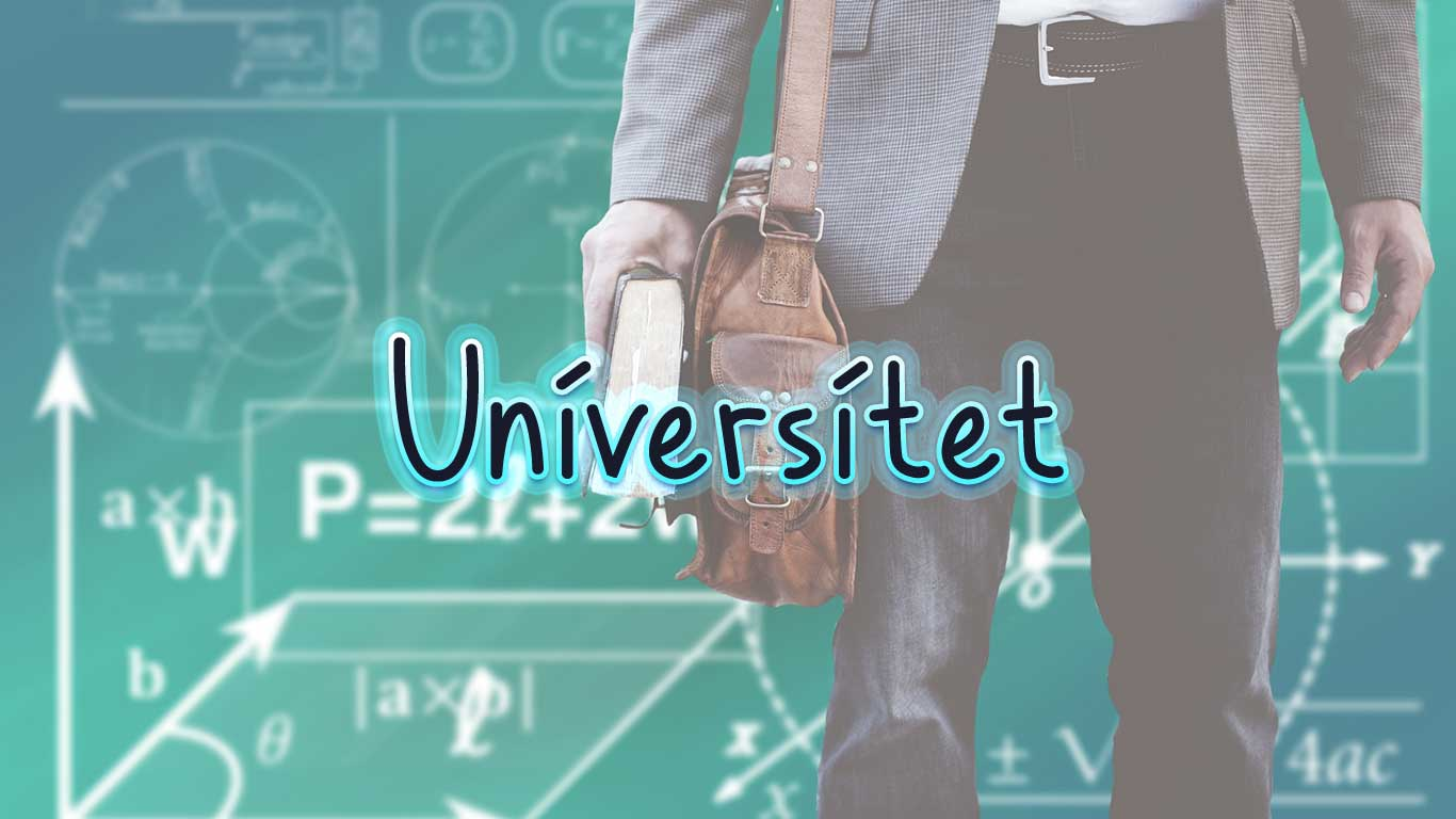 Logo for the Universitet.com domain name