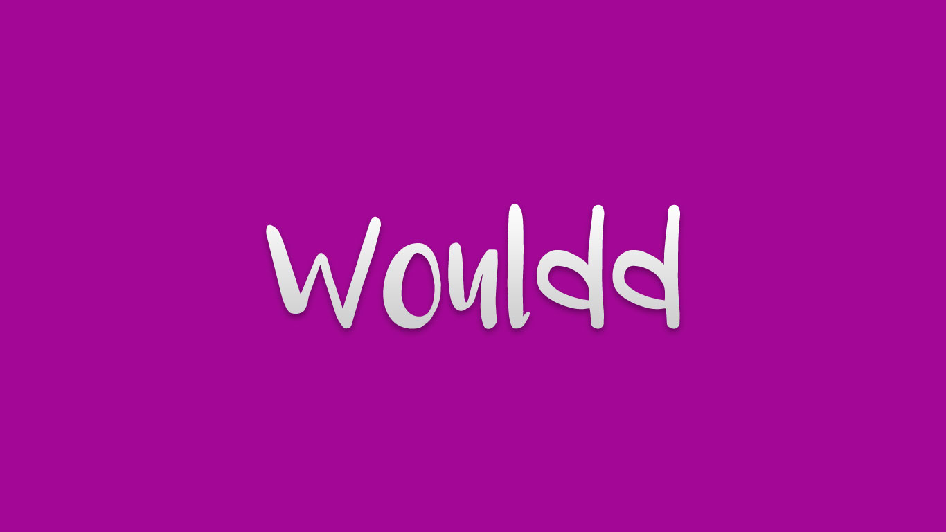 Logo for the Wouldd.com domain name