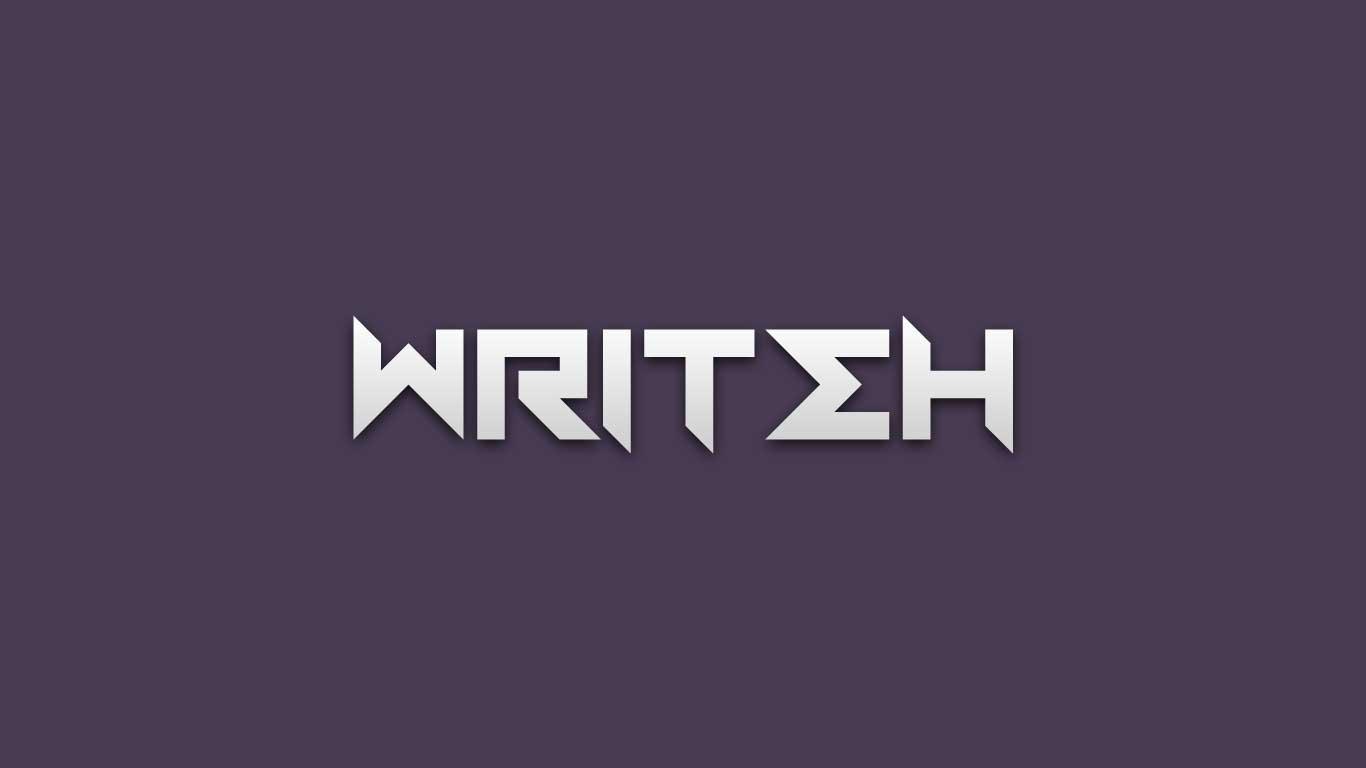 Logo for the Writeh.com domain name