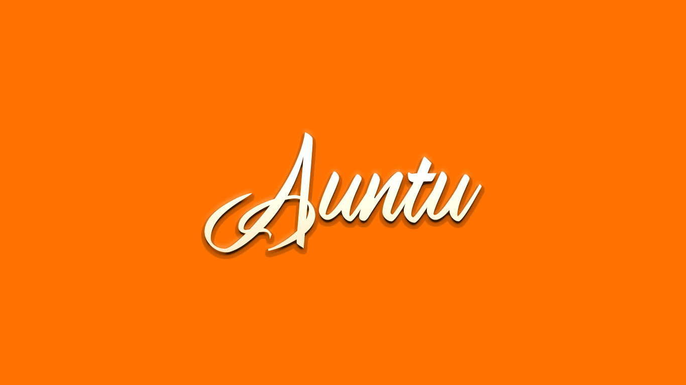 Logo for the Auntu.com domain name