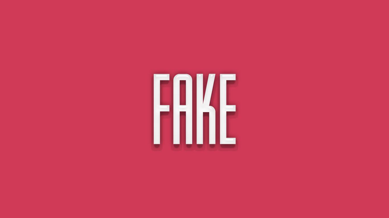 Logo for the Fake.net domain name
