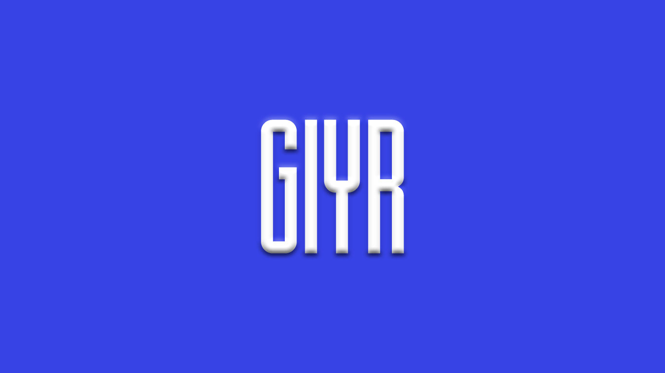 Logo for the Giyr.com domain name