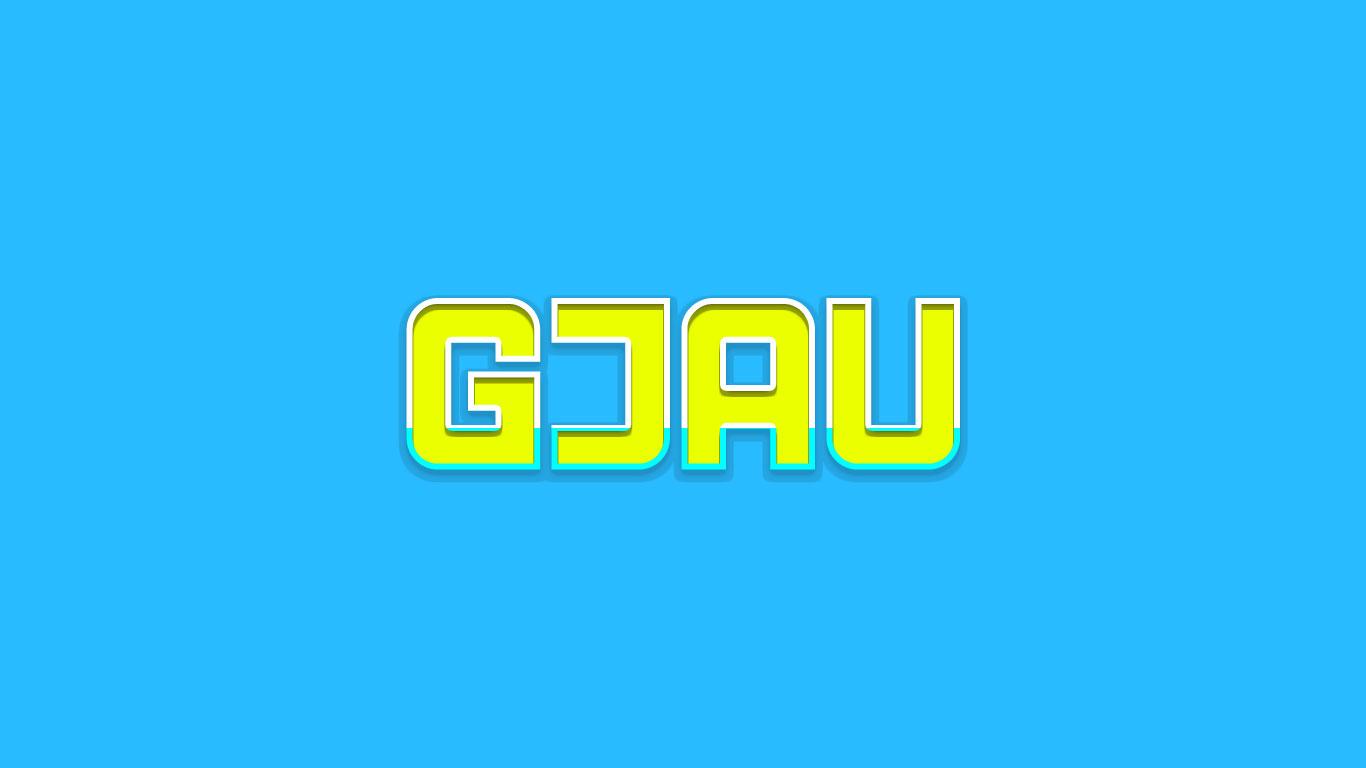 Logo for the Gjau.com domain name