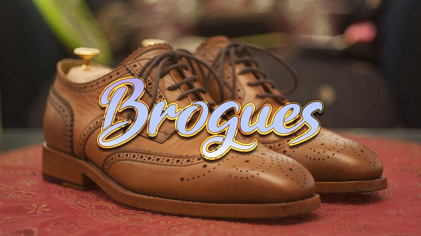 Logo for the Brogues.com domain name