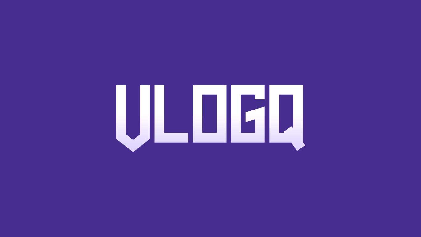 Logo for the Vlogq.com domain name