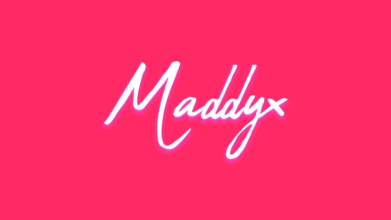 Logo for the Maddyx.com domain name
